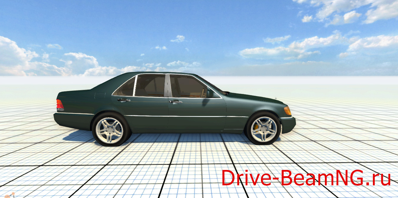 Mercedes benz s600 amg beamng drive for Mercedes benz 600 amg