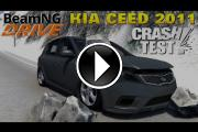 BeamNG Drive Kia Ceed 2011 Crash Test